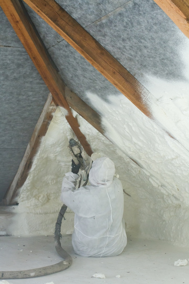 Spray Foam Insulation Install Contractors Cincinnati