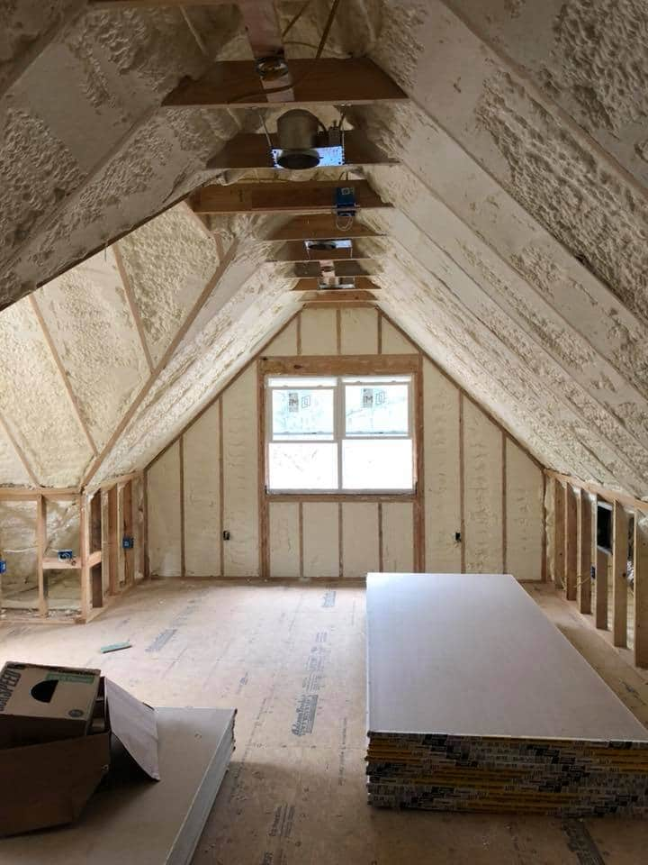 Spray Foam Attic Insulation Cincinnati 05