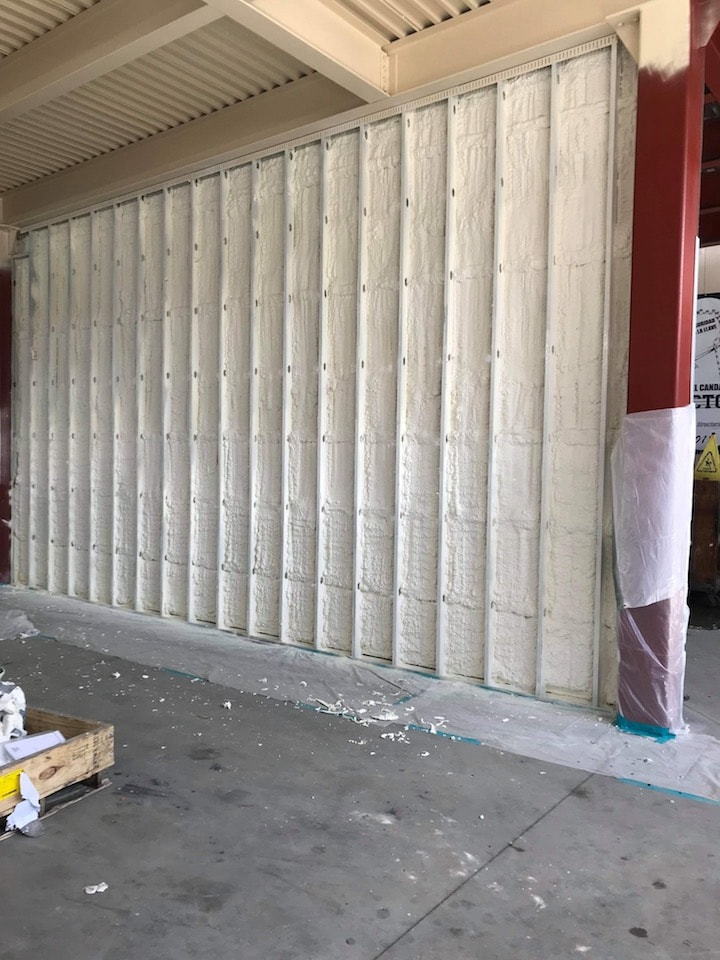 Commercial Building Spray Foam Insulation