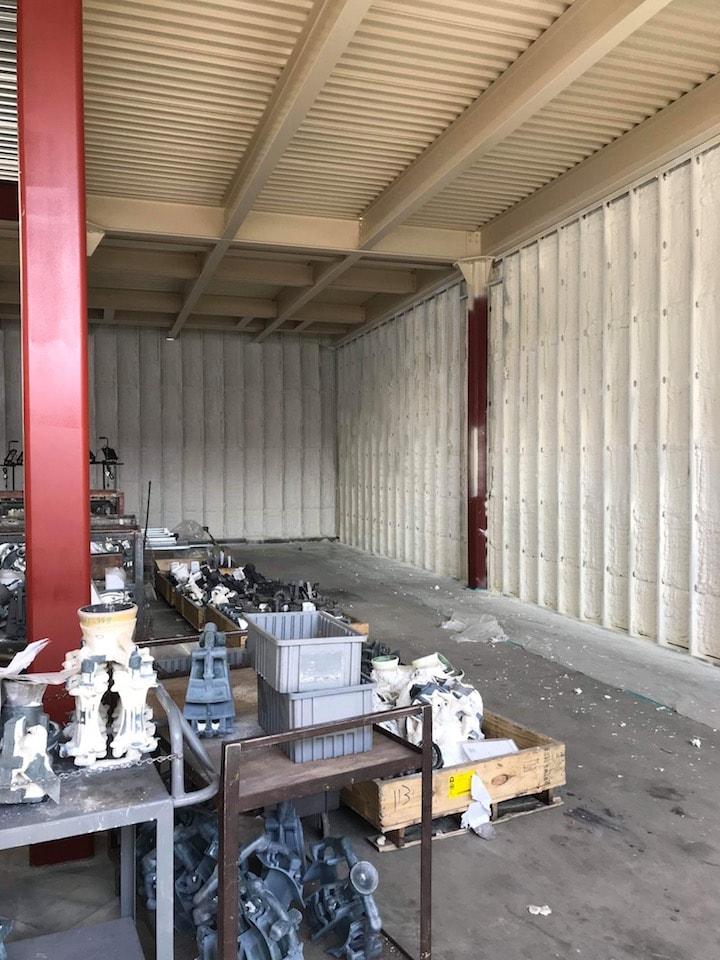 Commercial Metal Spray Foam Insulation Cincinnati