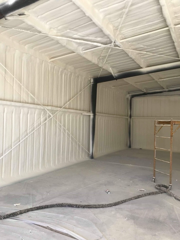 Commercial Spray Foam Insulation Building Cincinnati
