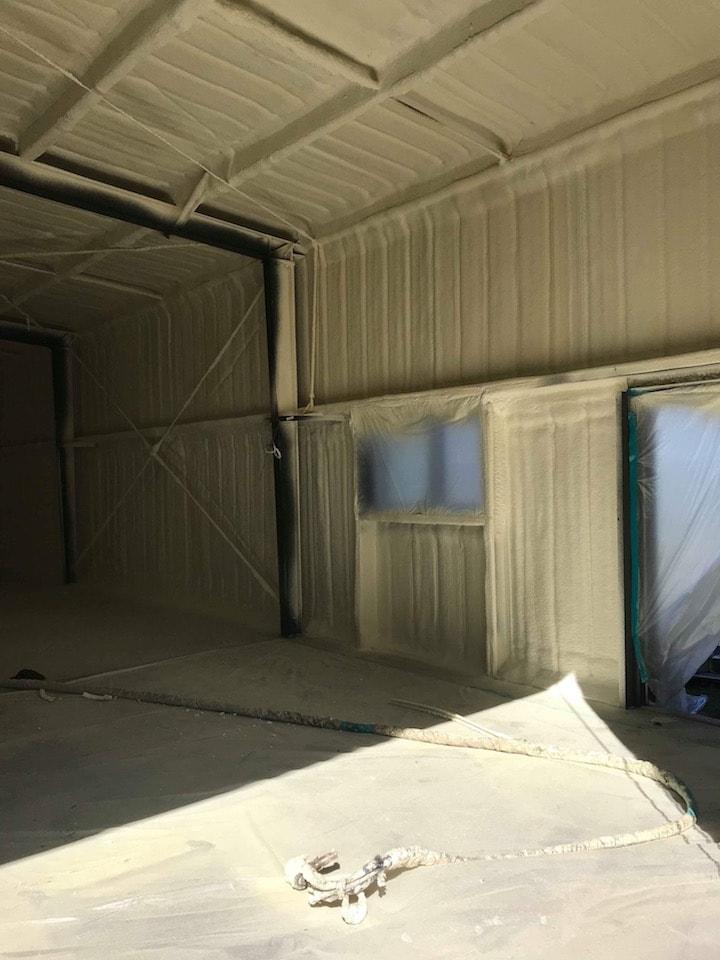 Commercial Spray Foam Insulation Install Cincinnati