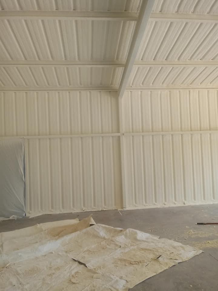 Metal Building Spray Foam Insulation Cincinnati Installers